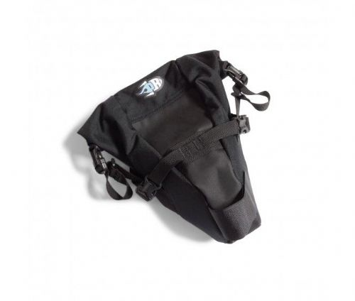 PORCELAIN ROCKET TESS SADDLE BAG - BLACK